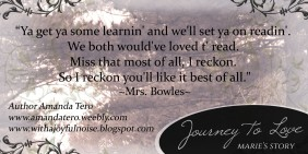 Quote - Mrs. Bowles