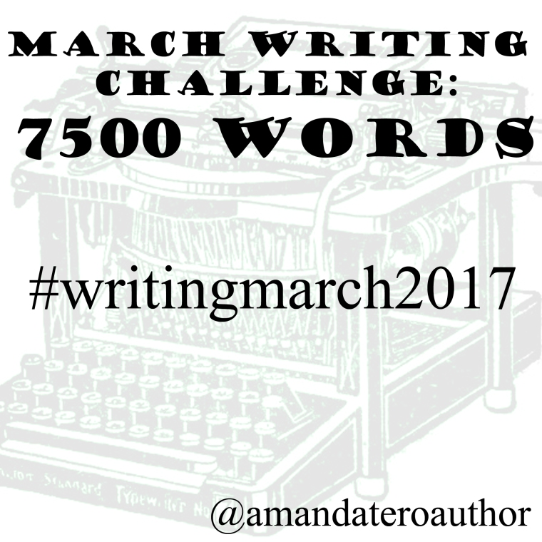 March 2017 writing intro